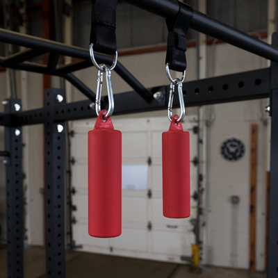 Red nun-chuck grip strength trainers body solid colorado
