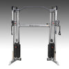 Body Solid Functional Trainer dual weight stack pull-up bar black and silver