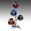 Body Solid medicine ball rack silver Simpsons Fitness Supply