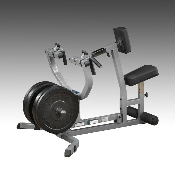Body-Solid GSRM40 Seated Row Machine Black & sliver with black pads