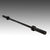 Body-Solid 5' Olympic Barbell - Black