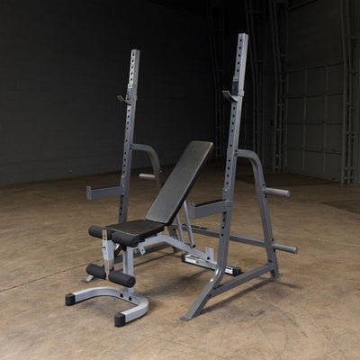 powerline pmp10 squat rack with adjustable bench