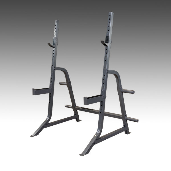 Powerline PMP150 multi press rack silver by body solid