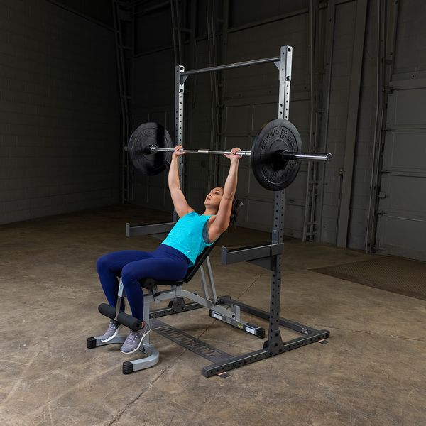 woman doing incline bench press on ppr500 rack
