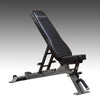 Body-Solid SFID325 adjustable bench black and silver flat incline bench