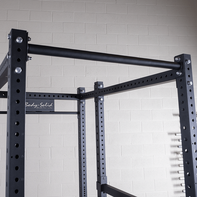 single pull up bar on body solid SPR1000 power rack