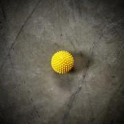 Spikey Massage Ball - Yellow plantar fasciitis