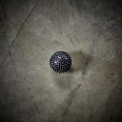 Spikey Massage Ball - Black