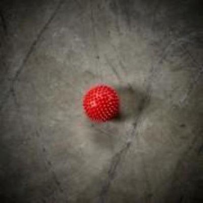 Spikey Massage Ball - Red