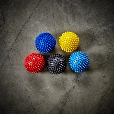 Spikey Massage Ball red yellow black blue  plantar fasciitis