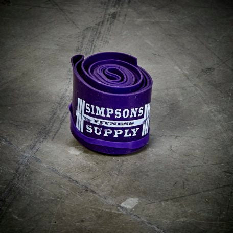 SFS – Recovery / Floss Bands - Purple - Simpsons Fitness Supply