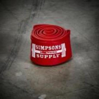 SFS – Recovery / Floss Bands - Red - Simpsons Fitness Supply