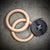Simpsons Fitness Supply Wood Gymnastic Rings