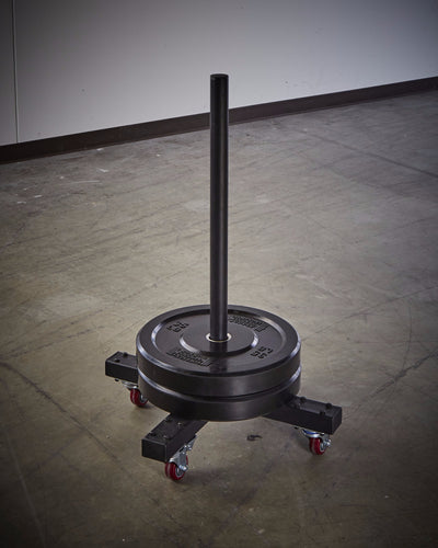 Bumper Plate Mobile Tree