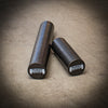 "36"" firm Black Foam roller & 18"" firm black roller"