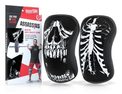 Rock Tape Assassin Knee Sleeves - Bones - Simpsons Fitness Supply