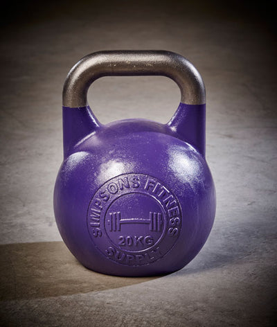 Competition Kettlebells 20kg - Simpsons Fitness Supply purple