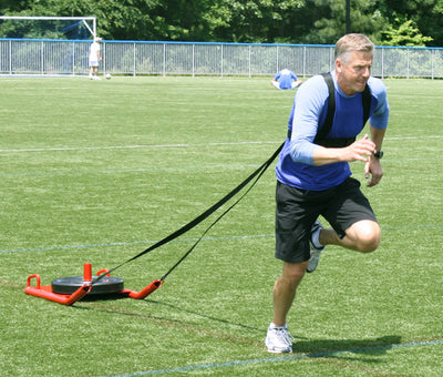 Speed Sled in Use Simpsons Fitness Supply
