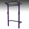 PRX performance profile pro folding squat rack purple with kipping bar