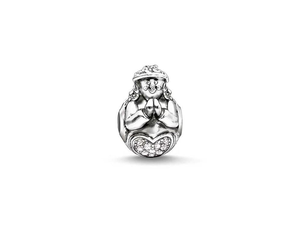 THOMAS SABO Angel CZ Karma Bead / Charm - Brilliant Co