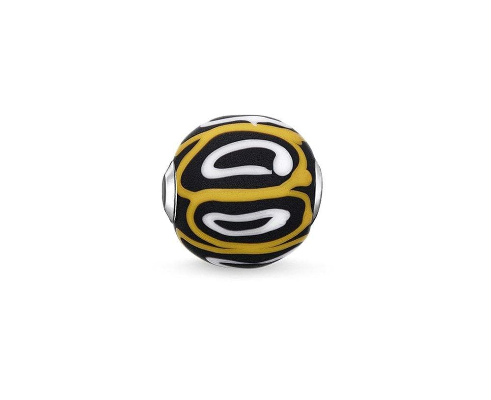 THOMAS SABO YELLOW GLASS KARMA BEAD - Brilliant Co