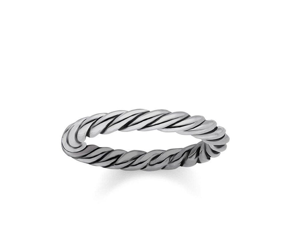 THOMAS SABO TWIST ETERNITY RING size 54 - Brilliant Co