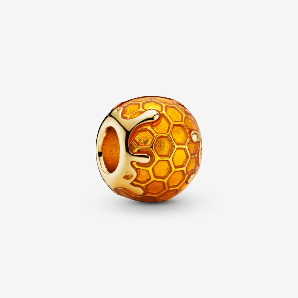 Dripping Honey Honeycomb Charm - Brilliant Co