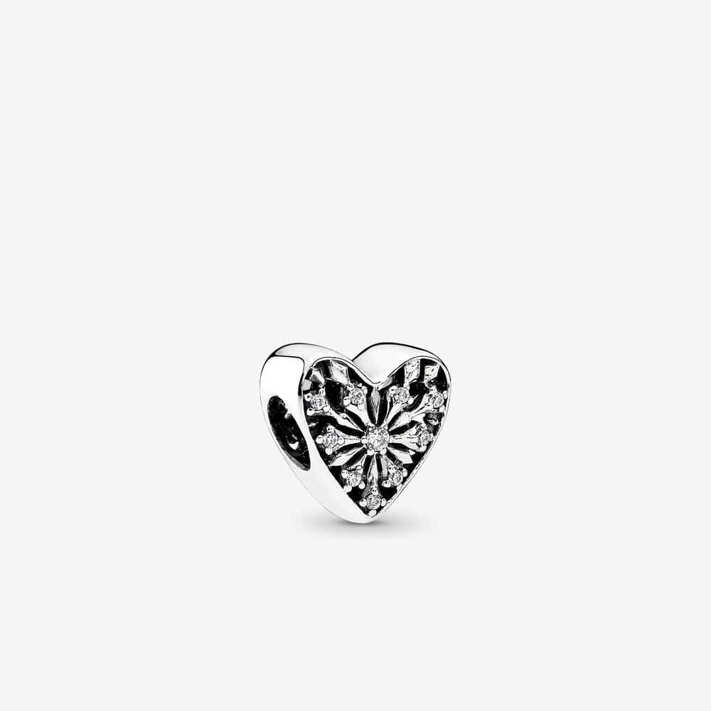 Heart of Winter Openwork Charm - Brilliant Co