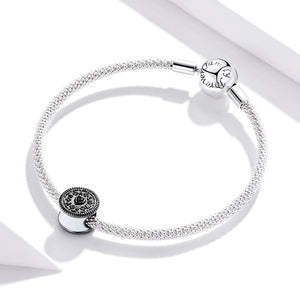 Solid 925 Sterling Silver ALWAYS Chocolate Biscuit Pandora Inspired Charm - Brilliant Co