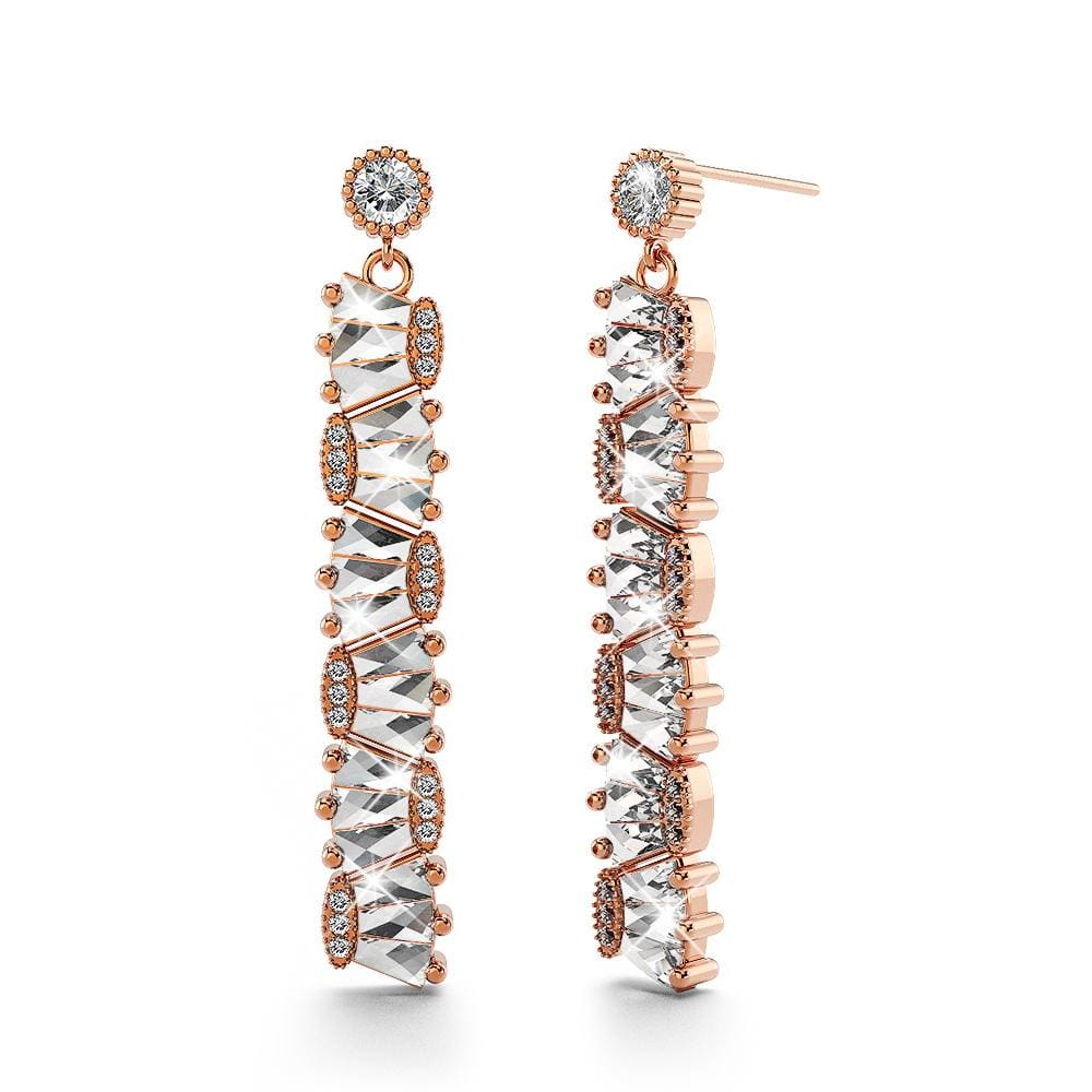 Safura Bloom Earrings Clear - Brilliant Co