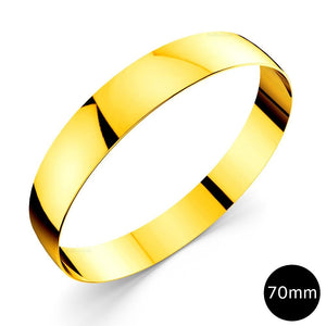 Xtra Large Bangle Gold 70mm