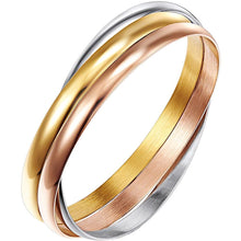 Trifecta Bangle Tri Tone - Brilliant Co