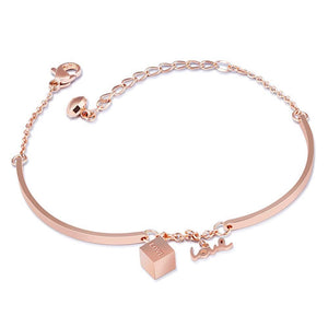 Cubic Love Charm Bracelet - Brilliant Co