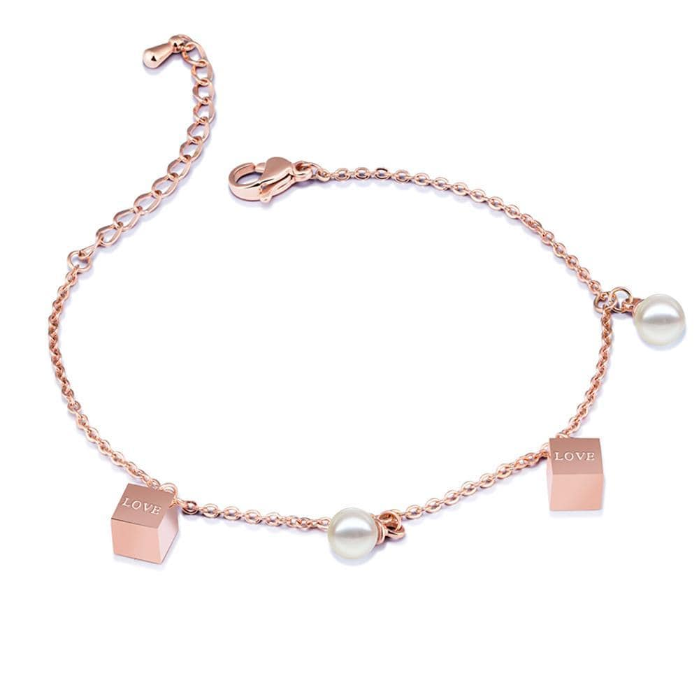 Pearly Love Charm Bracelet - Brilliant Co