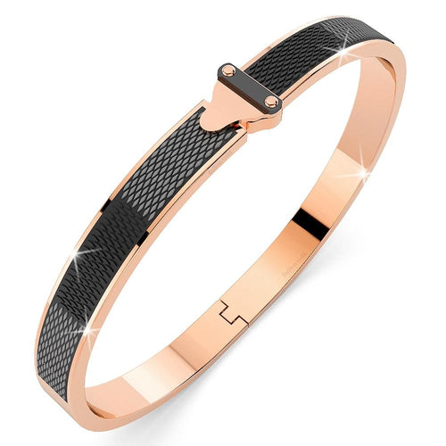 Elaine Rose Gold Bangle