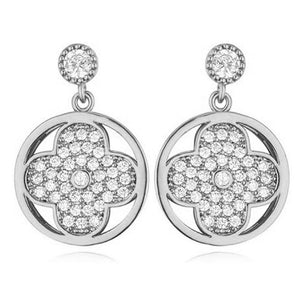 Couture Clover Earrings - Brilliant Co