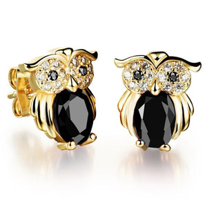 Pairs of Owl Stud Earrings - Brilliant Co