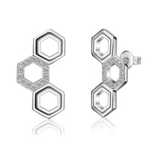 Load image into Gallery viewer, Honeycomb Earrings - Brilliant Co