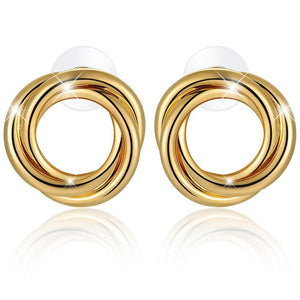 Perfect Twist Earrings - Brilliant Co