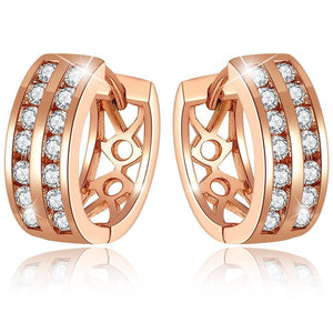 Dual Channel Earrings - Brilliant Co