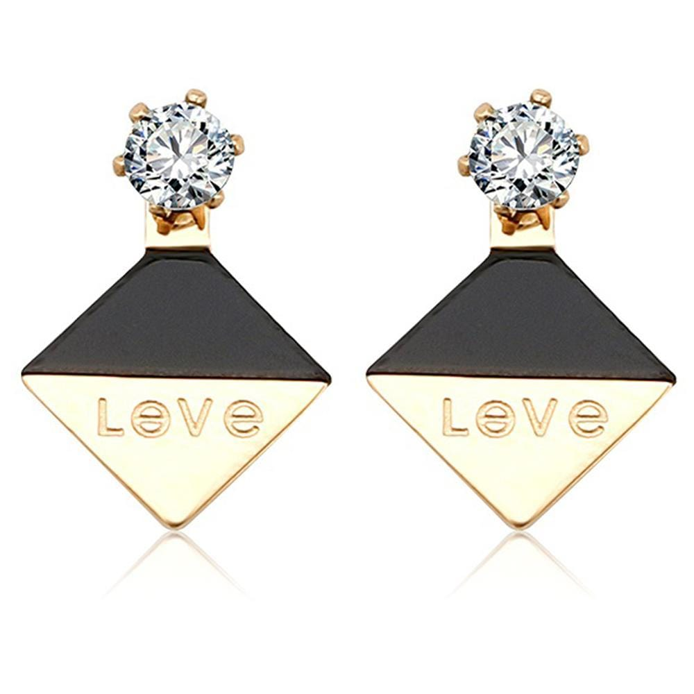 Geo Love Earrings - Brilliant Co