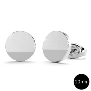 Simplicity Stud Earrings 10mm