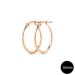 Sexy Oval Hoop Earrings 30mm