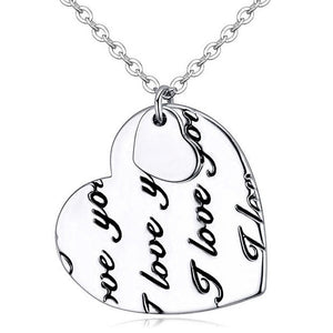 I Love You Necklace - Brilliant Co