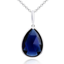Blue Elegance Necklace - Brilliant Co