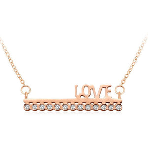 Love On Top Necklace - Brilliant Co