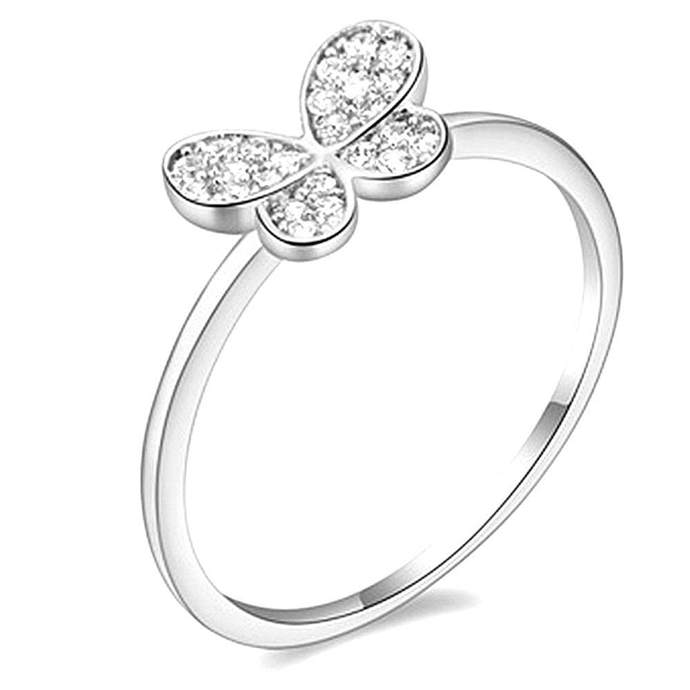 Butterfly CZ Ring - Brilliant Co
