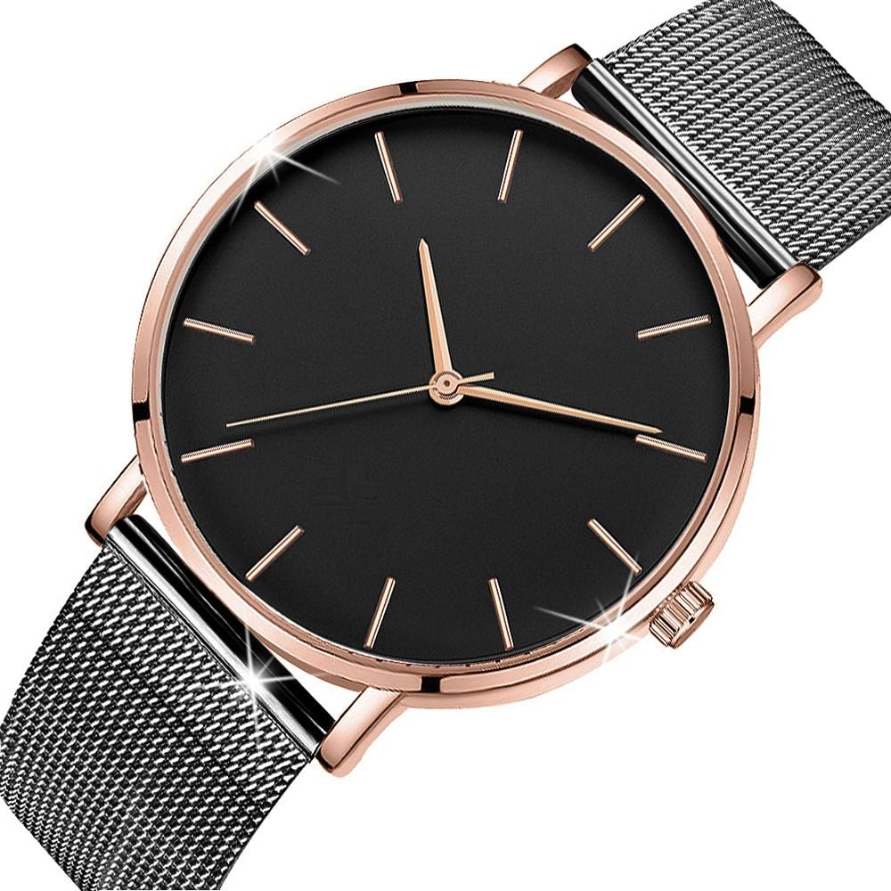 Bullion Gold Black Panther-Black and Rose Gold - Brilliant Co