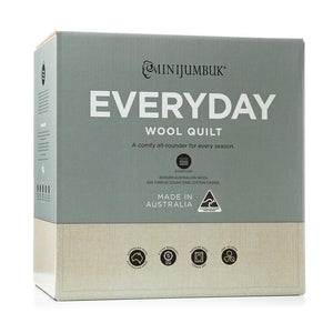 MiniJumbuk Everyday Quilt - King - Brilliant Co