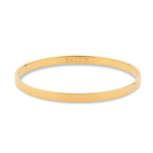 Faith Gold 5mm Bangle